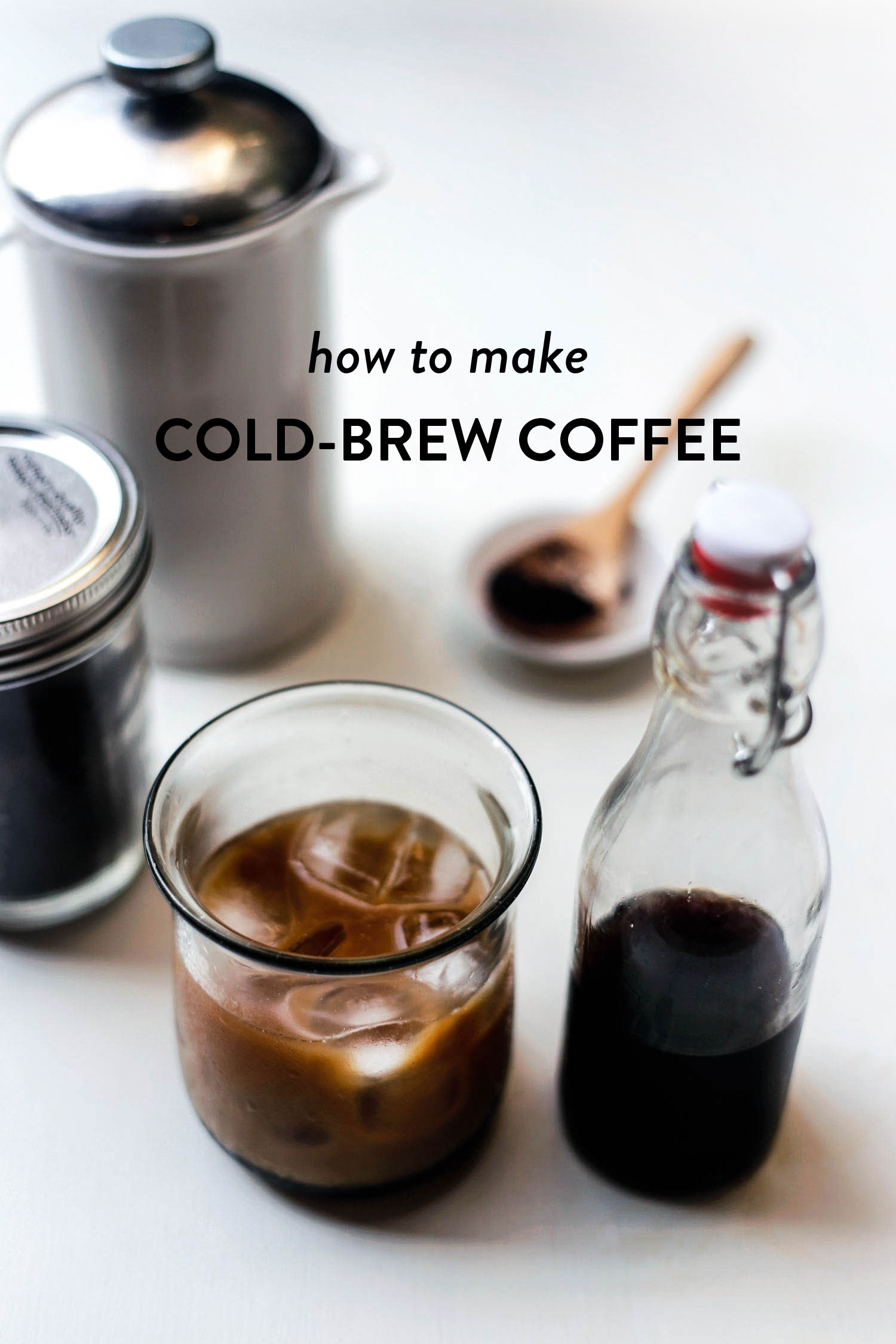 Easy and Delicious Homemade Cold-Brew Coffee - Little Green Dot
