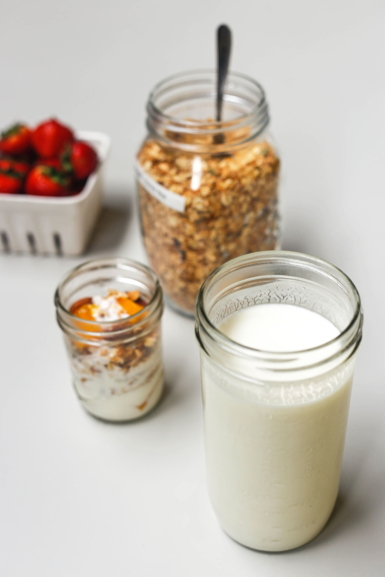 In The Kitchen With The Edible Co Homemade Yogurt Recipe Without A Yogurt Maker Little