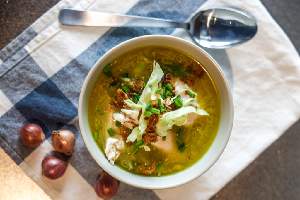 Indonesian Chicken Soup Recipe // #RESETEATCLEAN