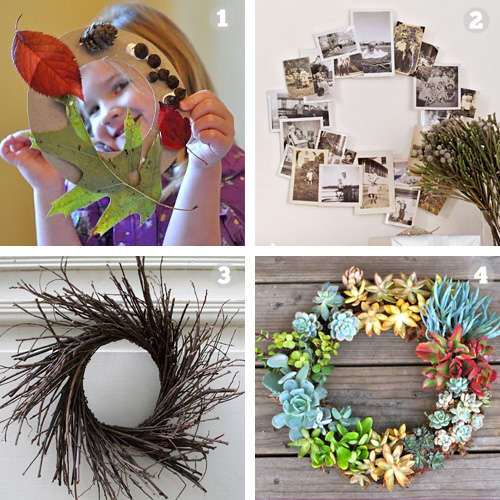 Diy Weekend Project Holiday Wreath Little Green Dot