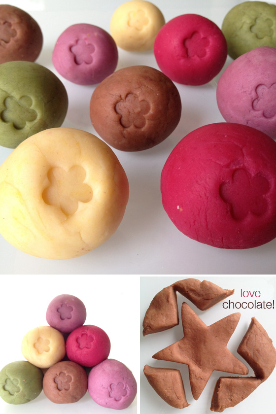DIY: Homemade Playdough with Natural Colouring - Little ...