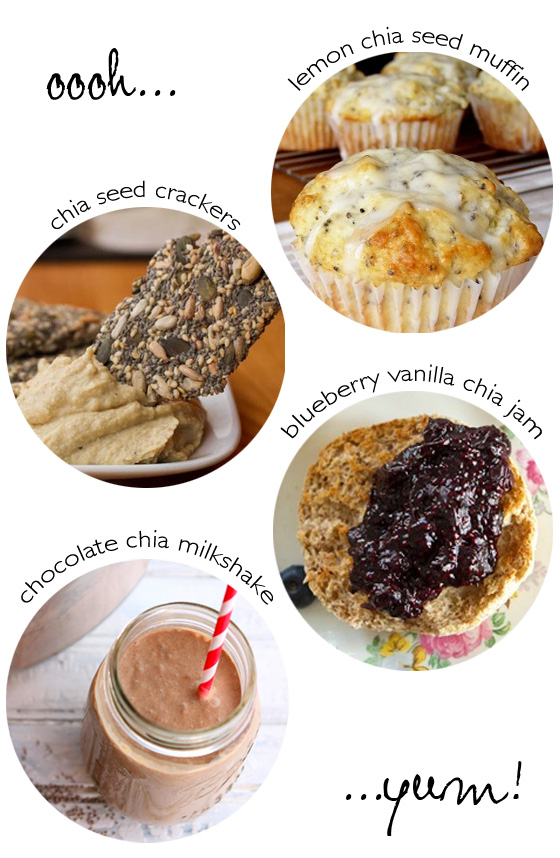 Four great chia seed recipes