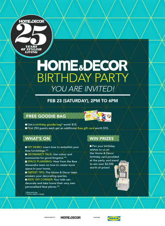 come visit little green dot at home decor s 25th birthday party