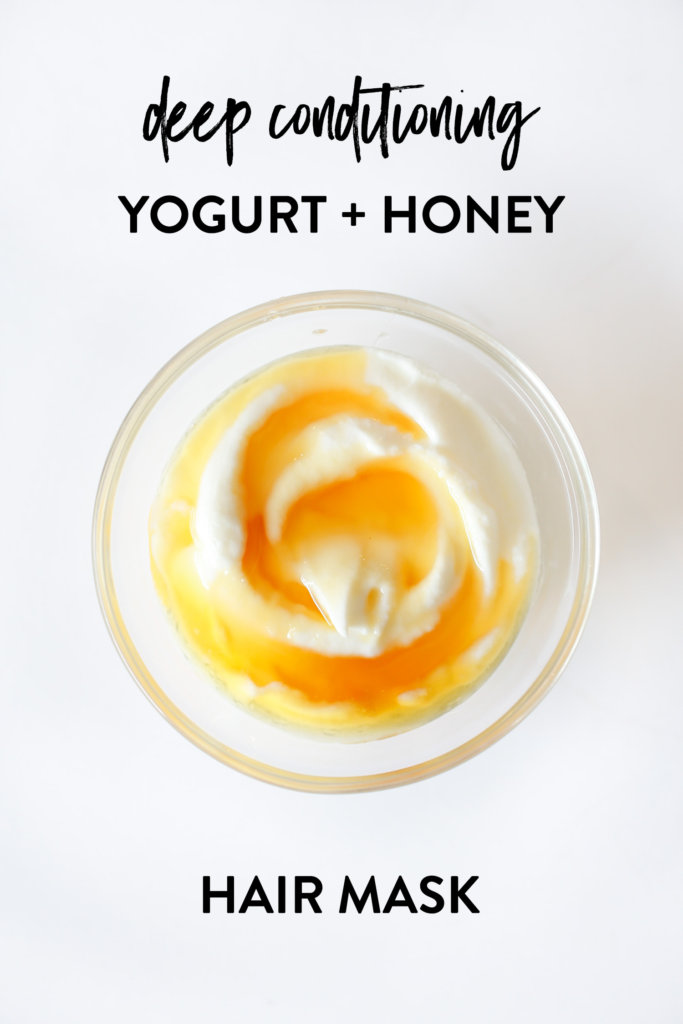 Diy Deep Conditioning Yogurt And Honey Hair Mask Little Green Dot