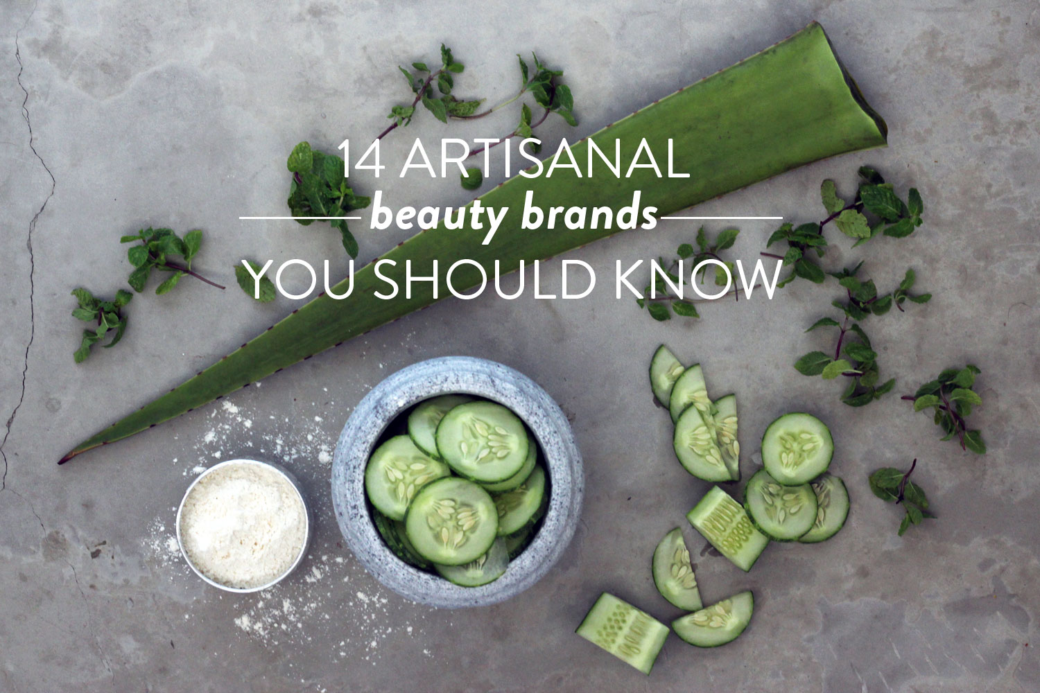The Best Hand-Crafted Skincare Brands You Should Know About | Little Green Dot