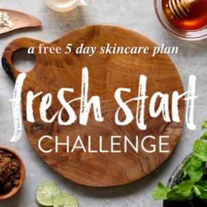 Fresh Start Challenge - a free 5 day skincare plan | littlegreendot.com