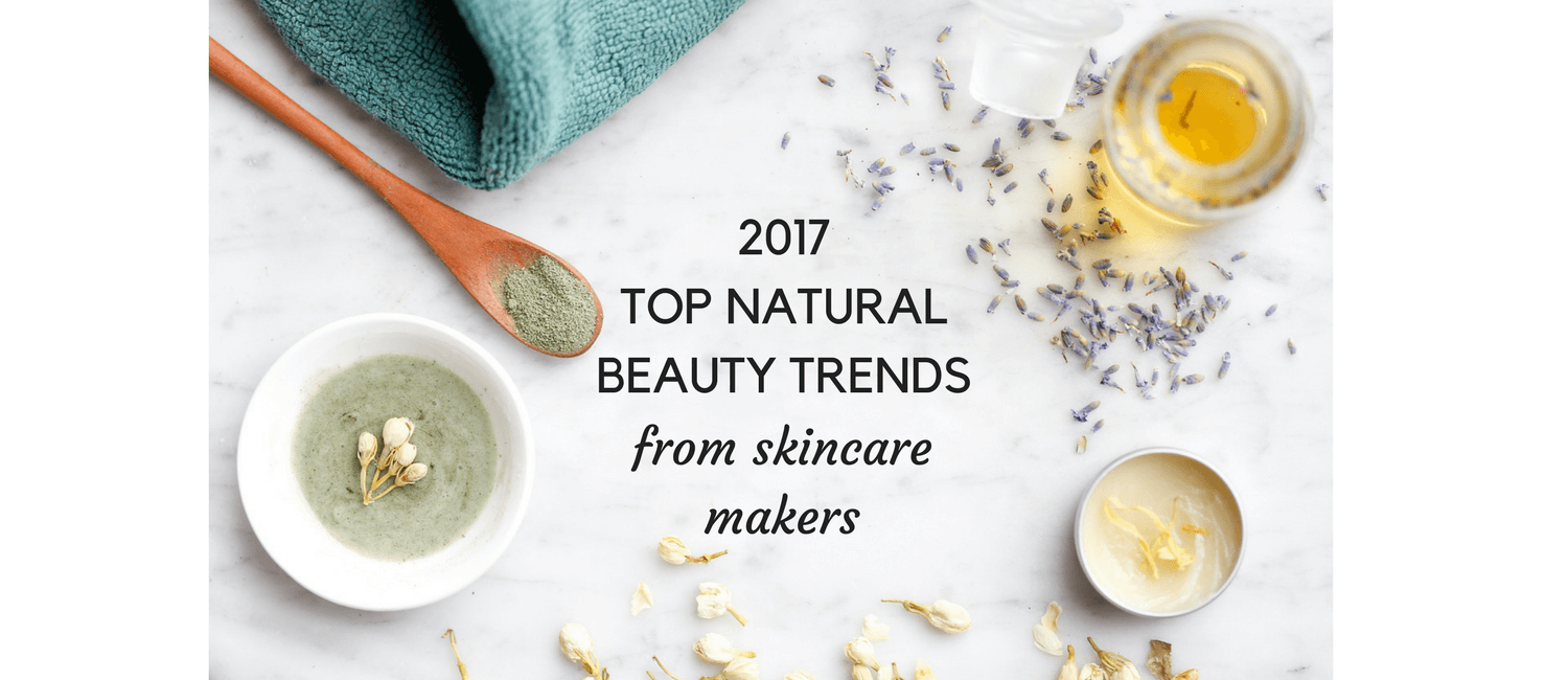 3 Natural Beauty Trends for Spring 2017 | Little Green Dot