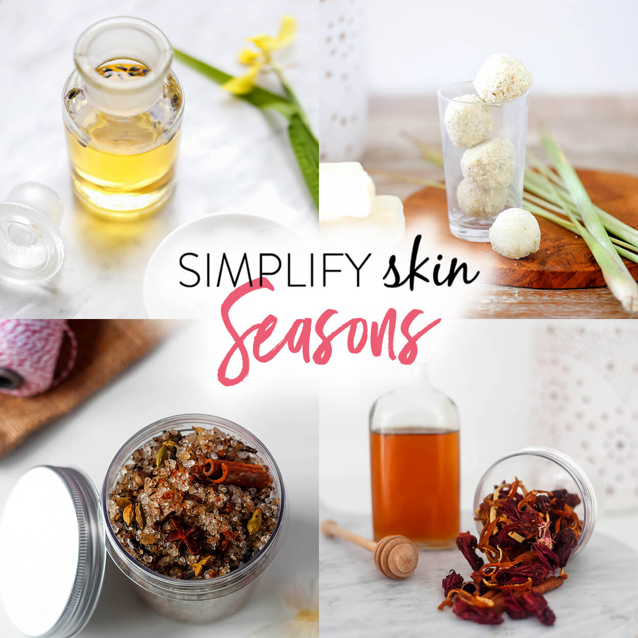 SIMPLIFY Skin SEASONS: All natural self-made skincare, year-round | littlegreendot.com